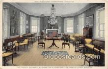 pat100239 - Council Chamber, Washington's Headquarters Morris Jumel Mansion Postcard Post Card