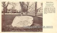 pat100241 - Lexington Common Lexington, Mass Postcard Post Card
