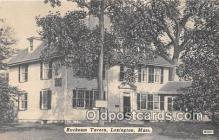 pat100244 - Buckman Tavern Lexington, Mass Postcard Post Card