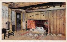 pat100251 - Living Room, Paul Revere House Boston, Massachusetts USA Postcard Post Card