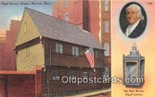 pat100253 - Paul Revere House Boston, Massachusetts USA Postcard Post Card