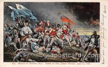 pat100254 - Battle of Bunker Hill, June 17, 1775 Death of Gen Joseph Warren Postcard Post Card