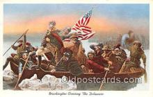 pat100260 - Washington Crossing the Delaware  Postcard Post Card
