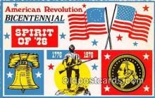 pat100267 - American Revolution Bicentennial Spirit of 76, 1776-1976 Postcard Post Card