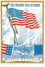 pat100290 - United We Stand  Postcard Post Card