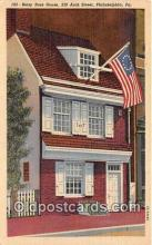 pat100307 - Betsy Ross House Philadelphia, PA Postcard Post Card