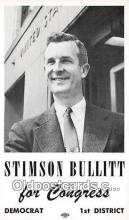 pat100313 - Stimson Bullitt, non postcard backing Congress, Democrat Postcard Post Card