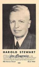 pat100315 - Harold Stewart Congress Postcard Post Card