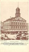 pat100333 - Faneuil Hall Built in 1742 by Peter Faneuil Postcard Post Card