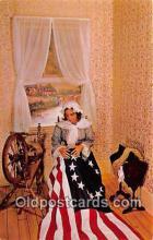 pat100334 - Betsy Ross 1752-1836 Philadelphia, PA Postcard Post Card