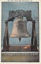 pat100335 - Old Liberty Bell Philadelphia, PA Postcard Post Card