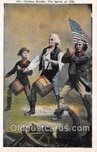 pat100346 - Yankee Doodle Spirit of 76, 1776-1976 Postcard Post Card