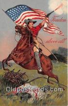pat100347 - Freedom Above All  Postcard Post Card