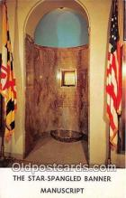 pat100364 - Star Spangled Banner Baltimore, Maryland Postcard Post Card