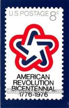 pat100366 - American Revolution Bicentennial  Postcard Post Card
