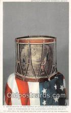 pat100369 - Drum Beaten, Battle of Lexington William Diamond Postcard Post Card