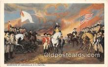 pat100379 - Surrender of Cornwallis US Capitol Postcard Post Card