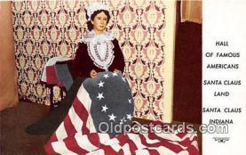 pat100392 - Stanta Claus Land Indiana Postcard Post Card