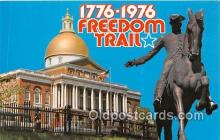 pat100394 - Freedom Trail 1776-1976  Postcard Post Card
