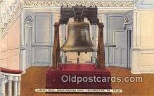 pat100397 - Liberty Bell Philadelphia, PA Postcard Post Card
