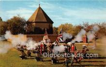 pat100398 - Colonial Williamsburg Militia Brown Bess Muskets Postcard Post Card