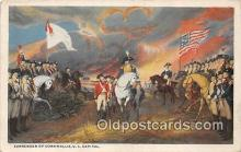 pat100408 - Surrender of Cornwallis US Capitol Patriotic Postcard Post Card