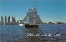 pat100423 - Boston Tea Party Ship Brig Beaver II Patriotic Postcard Post Card