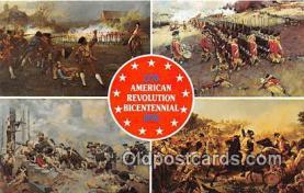 pat100428 - American Revolution Bicentennial  Patriotic Postcard Post Card