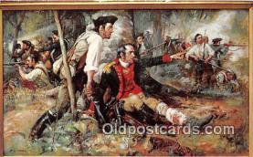 pat100430 - Gernal Herkimer at Oriskany Painting by Frederick Coffay Yohn Patriotic Postcard Post Card