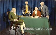 pat100431 - Declaration of Independence July 4, 1776, Thomas Jefferson, Benjamin Franklin Patriotic Postcard Post Card