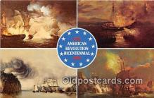 pat100433 - American Revolution Bicentennial  Patriotic Postcard Post Card