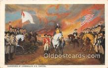 pat100446 - Surrender of Cornwallis US Capitol Patriotic Postcard Post Card
