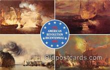 pat100459 - American Revolution Bicentennial  Patriotic Postcard Post Card