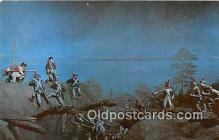 pat100474 - Storming of British Redoubt No 10 Yorktown, Virginia Patriotic Postcard Post Card