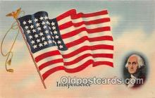 pat100477 - Independence  Patriotic Postcard Post Card