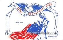 pat100481 - Bicentennial 1776-1976 Betsy Ross Patriotic Postcard Post Card