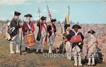 pat100497 - First Maryland Regiment Fort Frederick, MD Patriotic Postcard Post Card