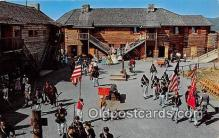 pat100498 - Historic Fort William Henry Lake George, NY Patriotic Postcard Post Card