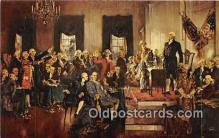 pat100505 - Signing of the Constitution, Sept 17, 1787  Patriotic Postcard Post Card