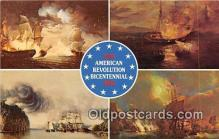 pat100508 - American Revolution Bicentennial War at Sea, Bonhomme Richard Patriotic Postcard Post Card