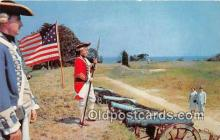 pat100518 - Redcoat & Continental Stan Yorktown, VA Patriotic Postcard Post Card