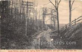pat100525 - Sandy Hollow Battle of Brandywine Patriotic Postcard Post Card