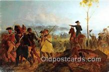 pat100529 - Battle of Bennington, August 16, 1777 General John Stark Patriotic Postcard Post Card