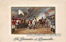 pat100550 - Surrender of Cornwallis  Patriotic Postcard Post Card