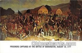 pat100554 - Prisoners Captured Bennington, August 16, 1777 Patriotic Postcard Post Card