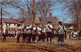 pat100555 - Liberty Pole Bedford, Massachusetts Patriotic Postcard Post Card
