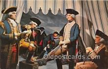 pat100559 - General Washington, Wax Museum Miami, Florida Patriotic Postcard Post Card