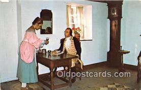 pat100560 - Lafayette, Quaker Maiden Brandywine Patriotic Postcard Post Card