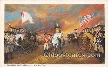 pat100561 - Surrender of Cornwallis US Capitol Patriotic Postcard Post Card