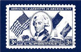 pat100562 - Marquis De Lafayette 1754-1834 Yorktown Patriotic Postcard Post Card